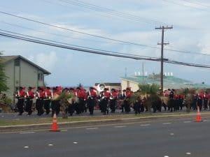 LHS band parade