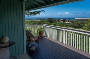 Relax on the lanai and view the North Shore ocean!