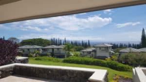 View from Kapalua Golf Villas 24P7,8
