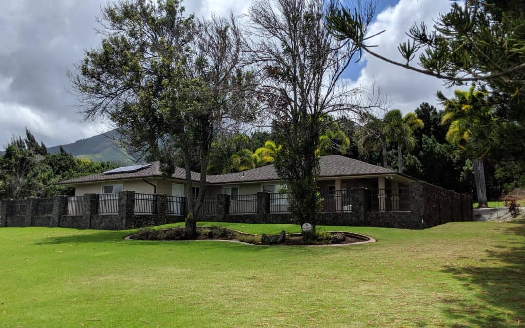 Just Sold! 2173 Mahinakea Street in Wailuku Country Estates