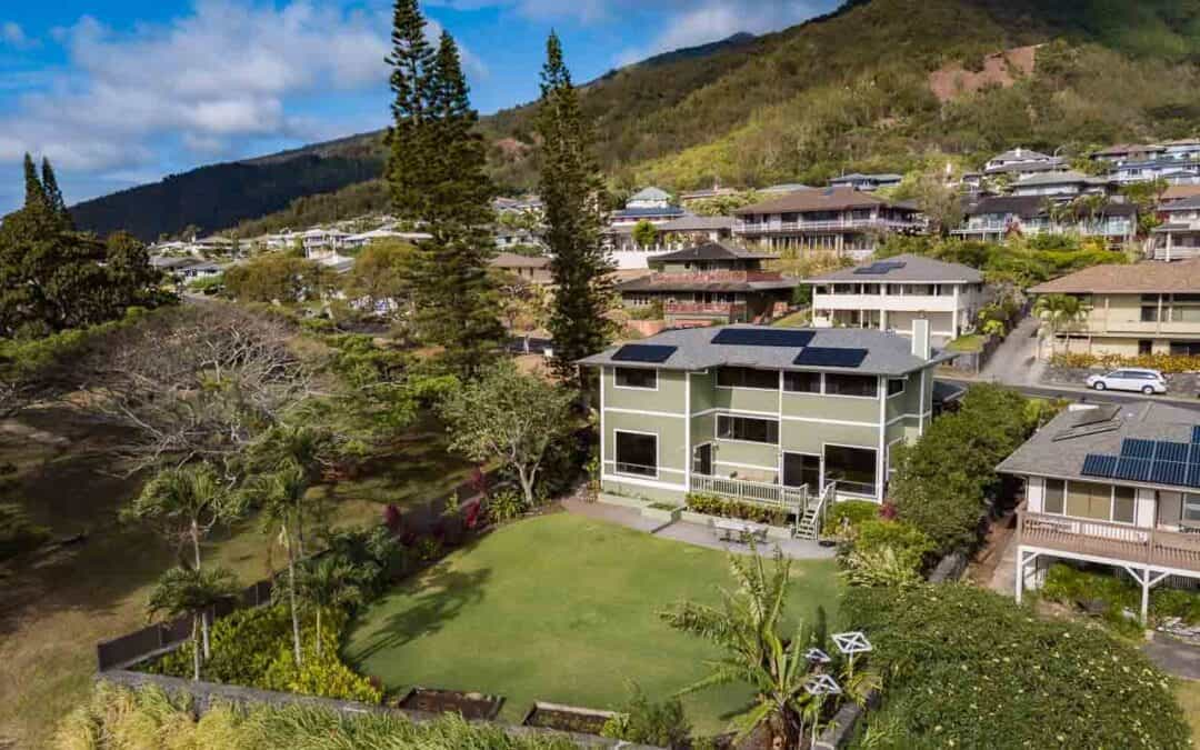 Wailuku Heights – special ocean view home next to park 633 S. Alu Rd